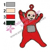 Teletubbies Po Embroidery Design 03