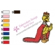 The King Big Bird Embroidery Design