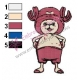 Tony Chopper One Piece Embroidery Design