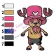 Tony Tony Chopper One Piece Embroidery Design