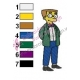 Waylon Smithers Simpsons Embroidery Design