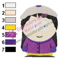 Wendy South Park Embroidery Design